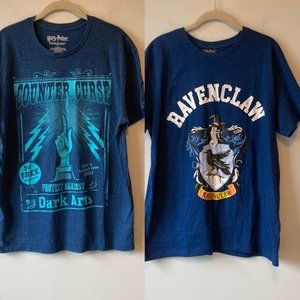 2 x HARRY POTTER TEEs Size Large